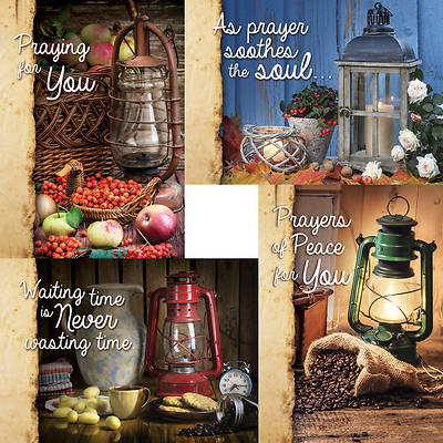 Lighting The Way - Praying For You Boxed Cards - Box of 12