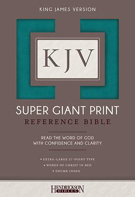 Picture of KJV Super Giant Print Bible