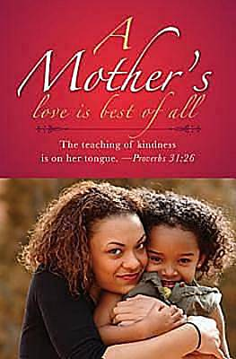 Mother and Daughter African American Mothers Day Bulletin 2012, Regular Size (Package of 50)