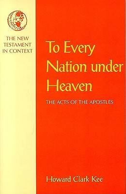 To Every Nation Under Heaven