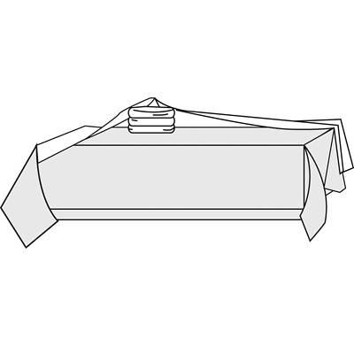 Picture of Linen Look Communion Two-Piece Set
