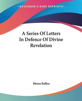 Picture of A Series of Letters in Defence of Divine Revelation