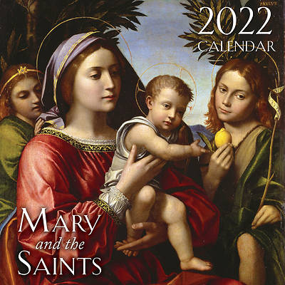 Picture of 2022 Mary and the Saints Wall Calendar
