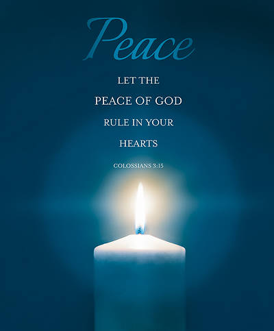Peace Advent Week 2 Legal Size Bulletin