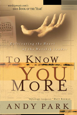 Picture of To Know You More