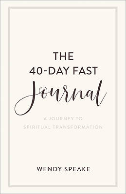 Picture of The 40-Day Fast Journal