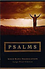 Gnt Large Print Psalms