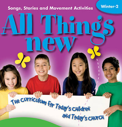 All Things New Winter 2 Interactive CD