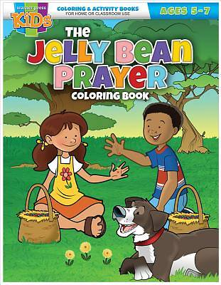 Kid/Fam Ministry Color and ACT Bks - Seasonal - The Jelly Bean Prayer (5-7)
