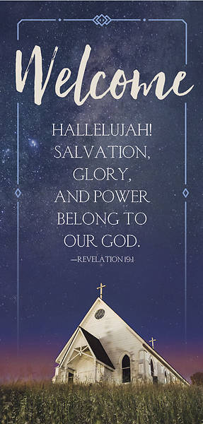 Picture of Revelation Welcome Card