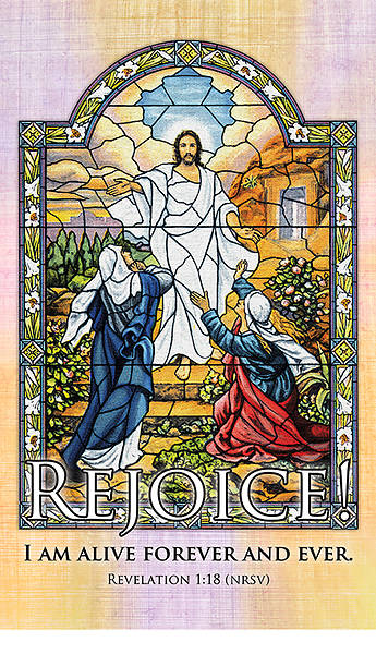 Picture of Rejoice! I Am Alive Easter 3' x 5' Fabric Banner