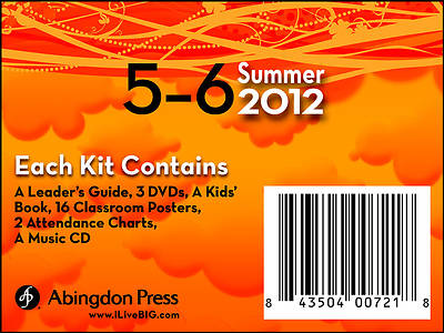 Picture of Live B.I.G. Ages 5-6 DVD Summer Kit 2012