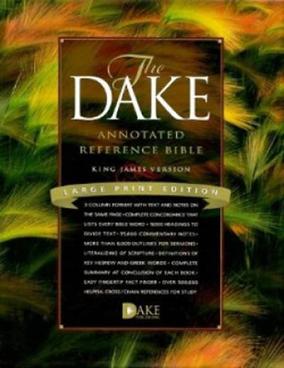 Dake Annotated Reference King James Version Bible