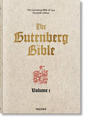 Picture of The Gutenberg Bible of 1454