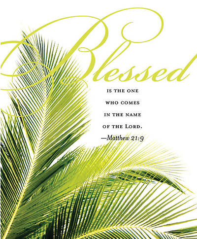 Palm Sunday Bulletin 2011, Large (Package of 50)