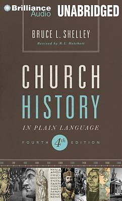 Church History in Plain Language Audiobook MP3 - CD