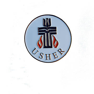 Presbyterian Gold-Plated Bronze Usher Pin