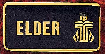 Elder Identification Presbyterian Pin