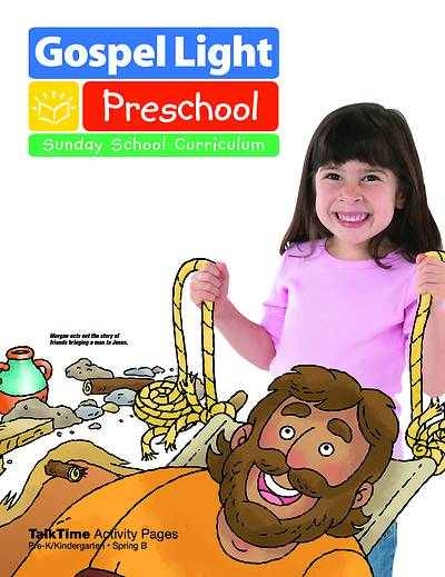 Gospel Light Pre-K & K Talk Time Activity Pages Spring 2017