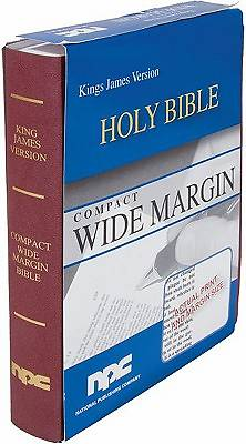 Compact Wide Margin Flexcover Holy Bible-KJV