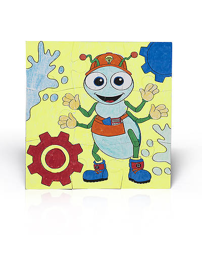 Vacation Bible School (VBS) 2014 Workshop of Wonders Rivet Puzzle Preschool Craft (Pkg of 6)