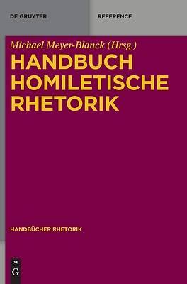 Picture of Handbuch Homiletische Rhetorik