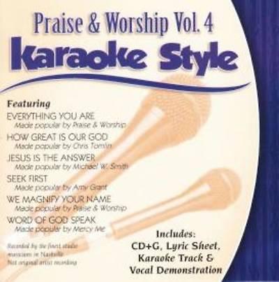 Picture of Praise & Worship, Volume 4; Karaoke With Sheet(s)
