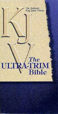 Picture of Ultra-Trim Bible-KJV-Snap Flap