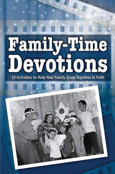 Nativity: Lights! Camera! Action! A Christmas Outreach Event Family-Time Devotions Booklet