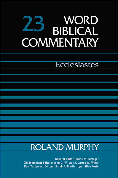 Word Biblical Commentary Ecclesiastes
