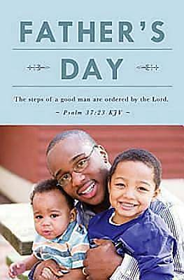 Picture of Father and Sons Father's Day Bulletin 2012, Regular Size (Package of 50)