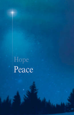 Picture of Peace Star Advent Bulletin (Pkg of 50)