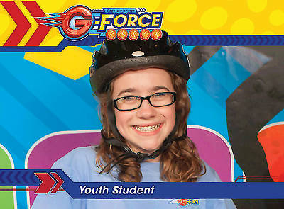 Vacation Bible School (VBS) 2015 G-Force Youth Student