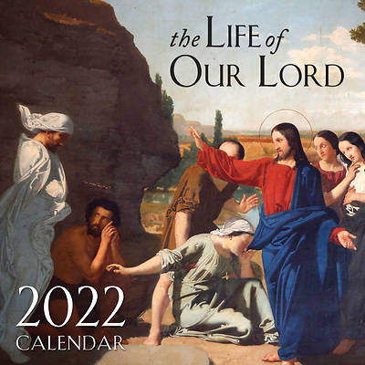 Picture of 2022 the Life of Our Lord Wall Calendar