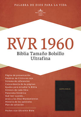 Picture of Pocket Size Bible-RV 1960