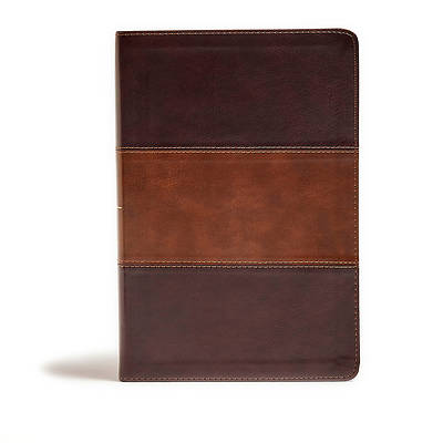 Picture of KJV Giant Print Reference Bible, Classic Mahogany Leathertouch
