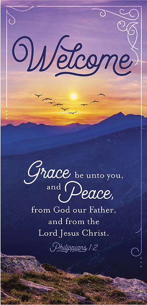 Grace and Peace Welcome Card