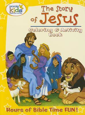 Picture of The Story of Jesus Coloring and Activity Book