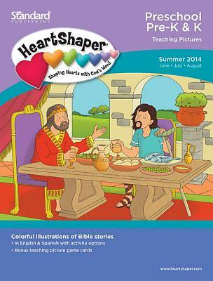 Standard HeartShaper Preschool/PreK & K Teaching Pictures Summer 2014