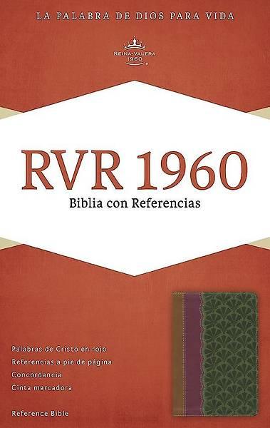 Picture of Rvr 1960 Biblia Con Referencias, Chocolate/Ciruela/Verde Jade Simil Piel