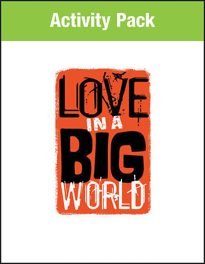 Picture of Love in a Big World Activity Pack PDF Download