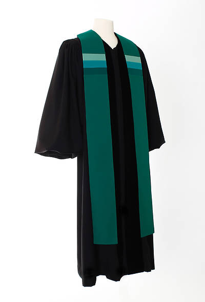 Picture of Triune Stripe Stole - Green