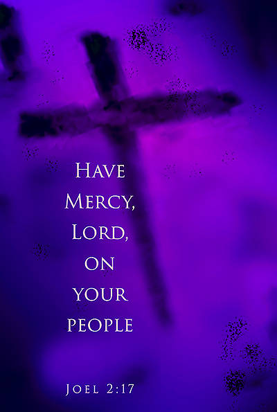 Have Mercy, Lord Ash Wednesday Bulletin 2015, Regular (Package of 50)
