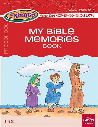 Picture of FaithWeaver Friends Preschool Student Book My Bible Memories Spring 2016