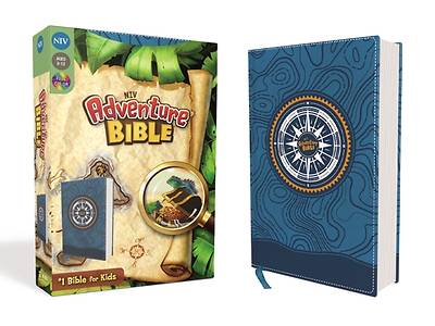 Picture of Niv, Adventure Bible, Leathersoft, Blue, Full Color