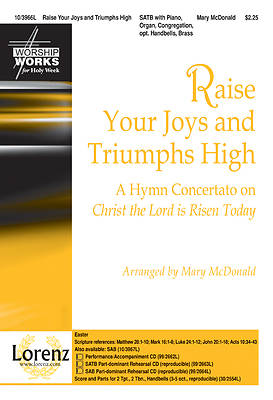 Raise Your Joys and Triumphs High SATB Anthem