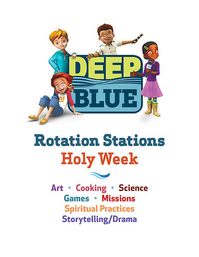 Picture of Deep Blue Rotation Stations: Holy Week - Entire Unit Download