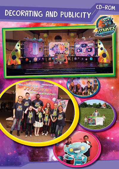 Picture of Vacation Bible School (VBS) 2019 To Mars and Beyond Decorating and Publicity CD-ROM