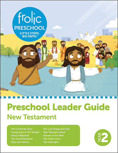 Picture of Frolic Preschool  New Testament  Year 2  Ages 3-5  Leader Guide