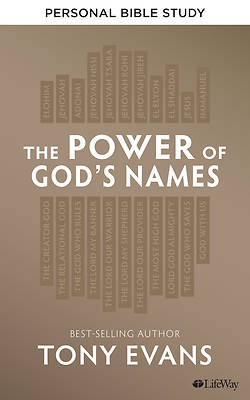 Picture of The Power of God's Names - Personal Bible Study Book